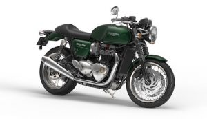 Thruxton-Competition-Green-Front-Quarter