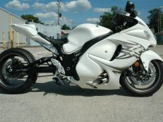 Turbocharged Suzuki Hayabusa