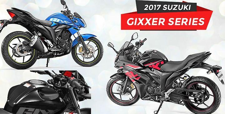 2017 Suzuki Gixxer & Gixxer SF