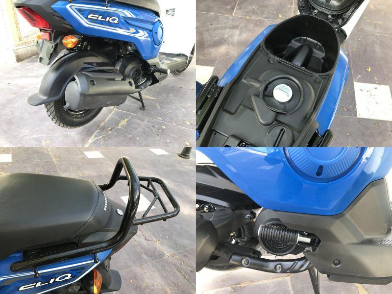 Honda Cliq scooter first ride