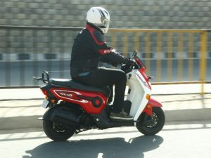 Honda Cliq scooter first ride