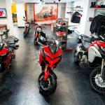 Ducati showroom in Kolkata