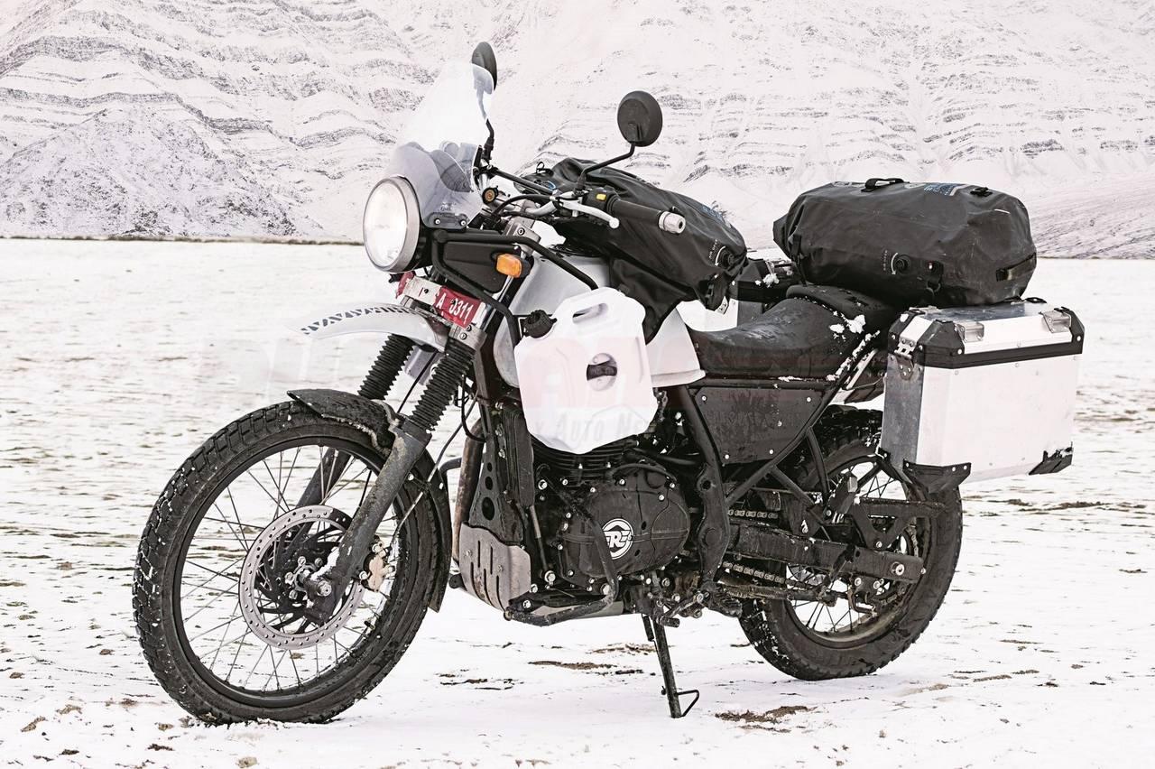 Royal Enfield Himalayan Motorcyclediaries