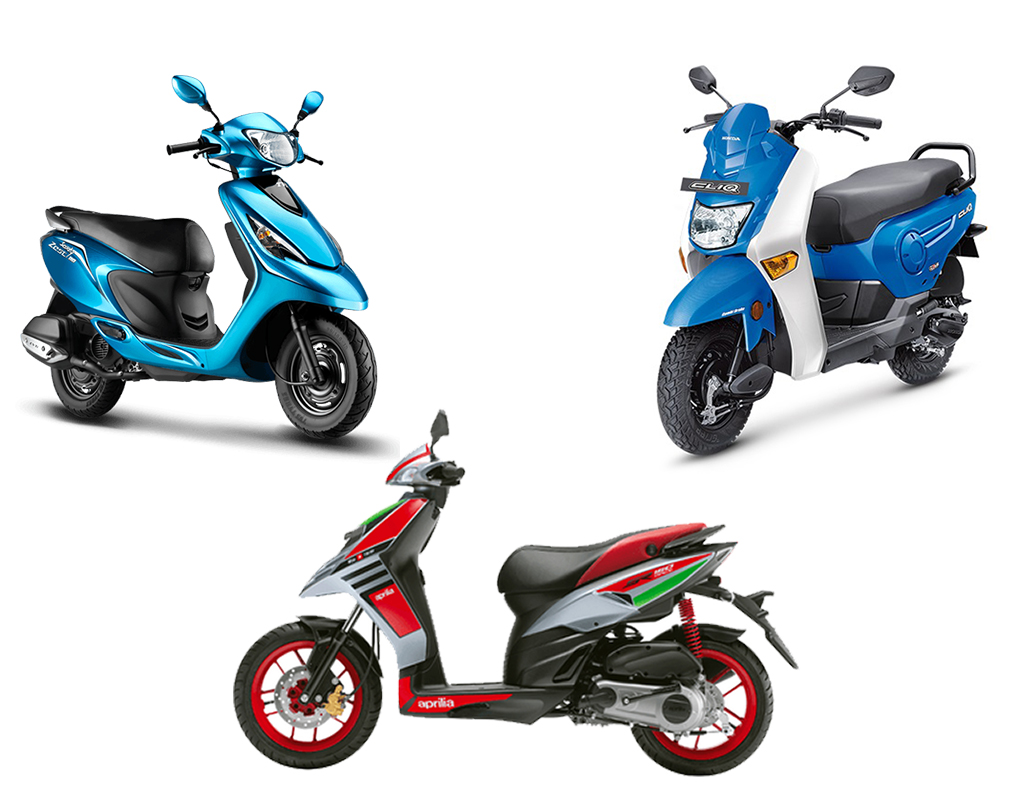 Scooters In India 2017