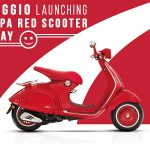 Vespa RED Scooter