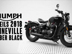 2018 Bonneville Bobber Black