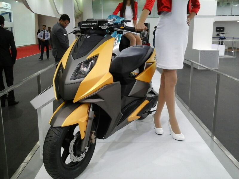 TVS Graphite Scooter 150 cc Specifications