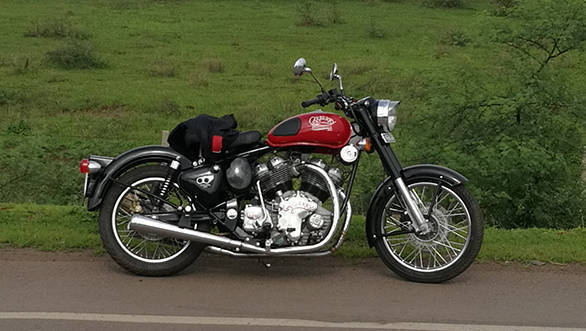 Carberry Double Barrel 1000 Royal Enfield