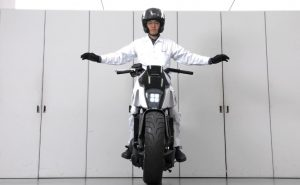 Self-Balancing Motorcycle