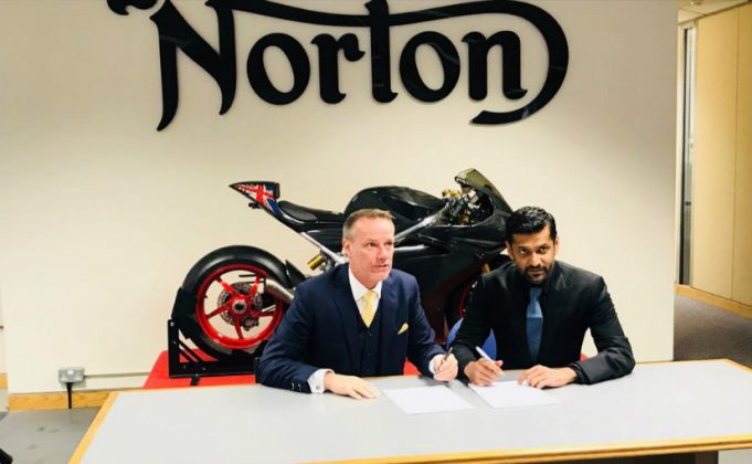 Kinetic Inks JV Pact with British Brand Norton Motorcycles