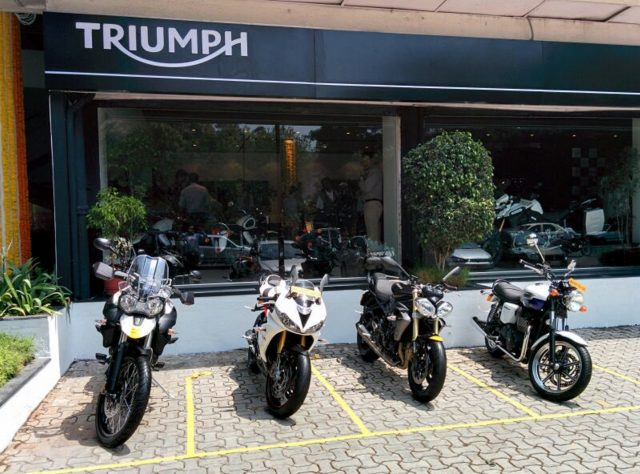 Triumph Motorcycles In India