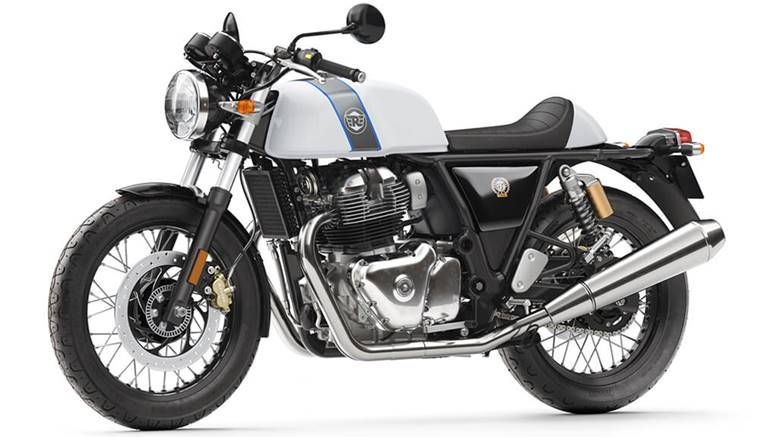 Royal Enfield Continental GT 650 motorcyclediaries