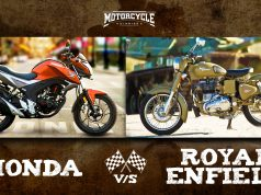 Honda vs Royal Enfield