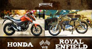 Honda vs Royal Enfield