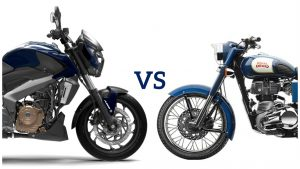 Royal Enfield vs Bajaj