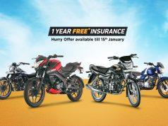 Bajaj Offers 1 Year Free Insurance