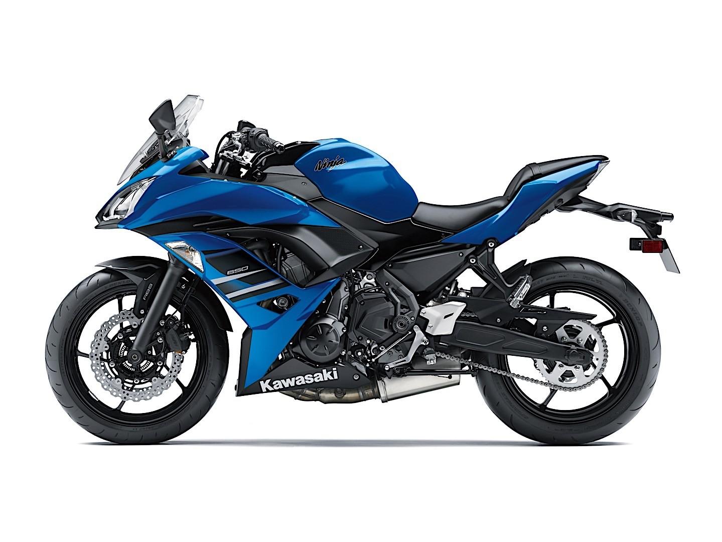 Kawasaki Ninja 650 ABS Blue