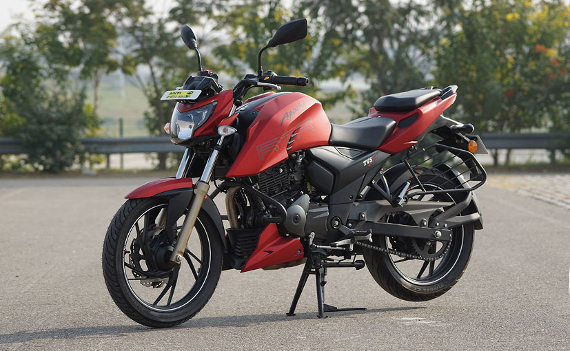 TVS Apache RTR 200 4V ABS Launched With Dual-Channel ABS