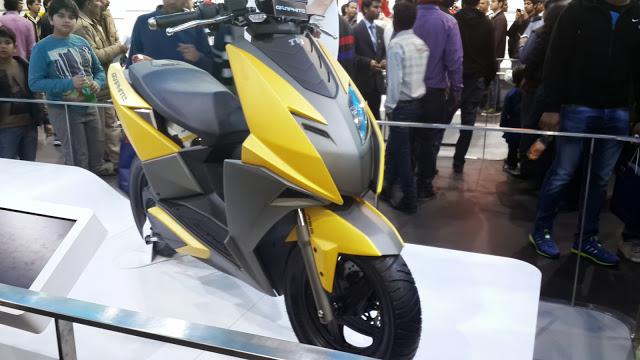 2018 TVS Ntorq 125 Scooter