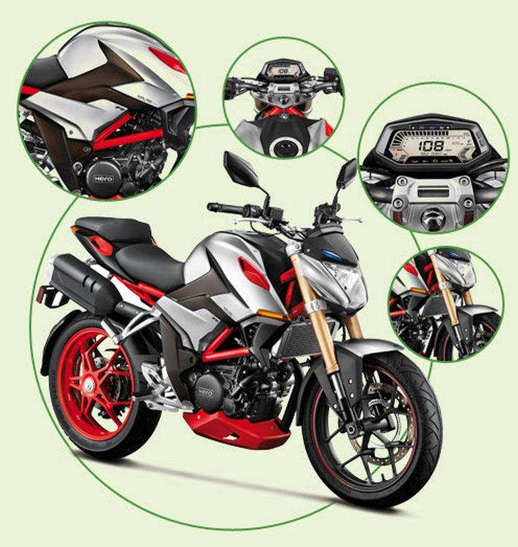Hero 300cc Concept Bike