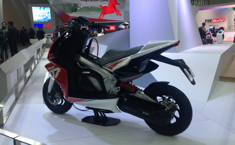 TVS Creon electric scooter