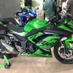 ninja 300 green