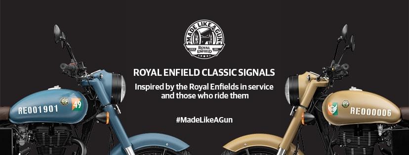 Royal Enfield Classic Signals 350