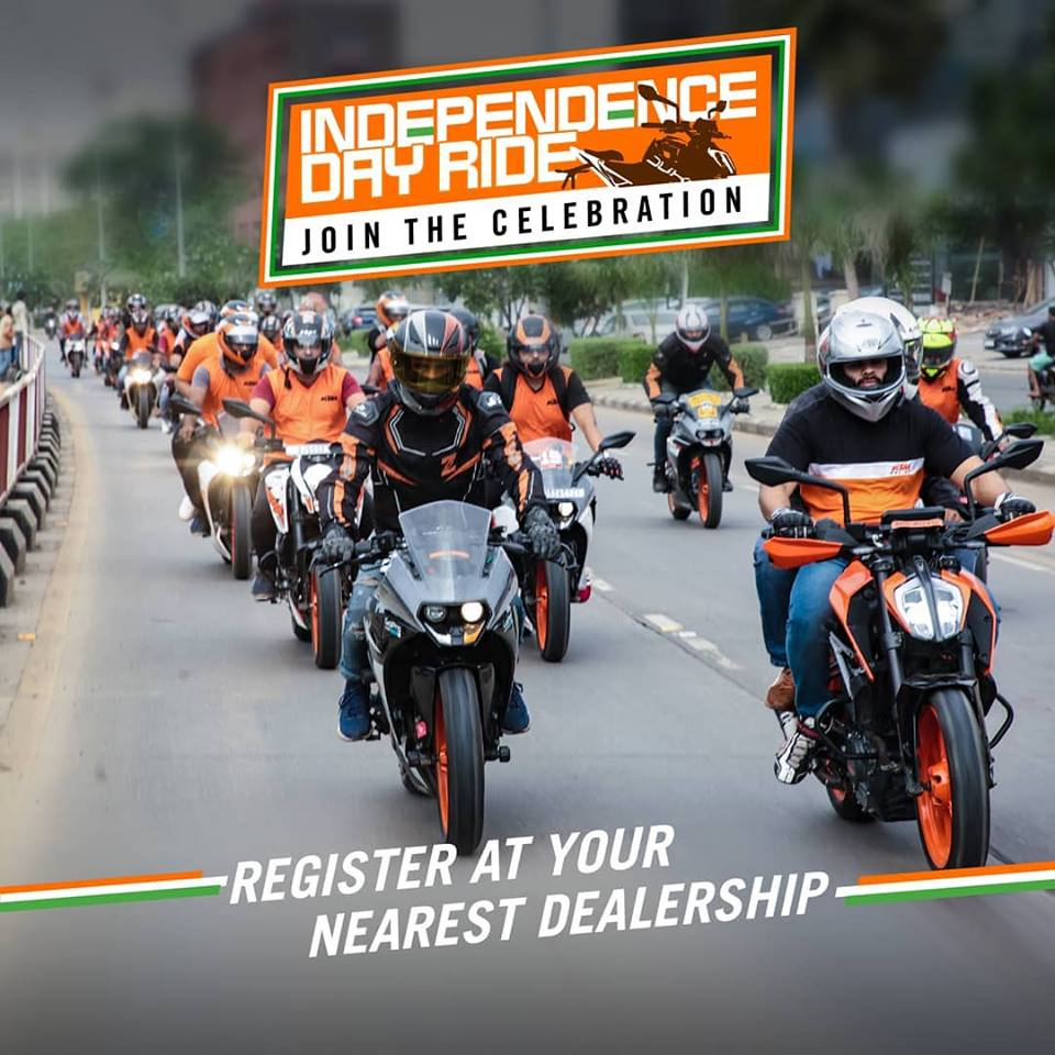 independence day ride