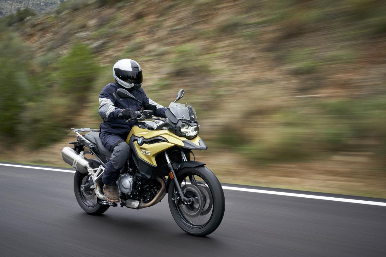 BMW F750 GS bike