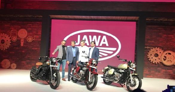 Jawa Launch