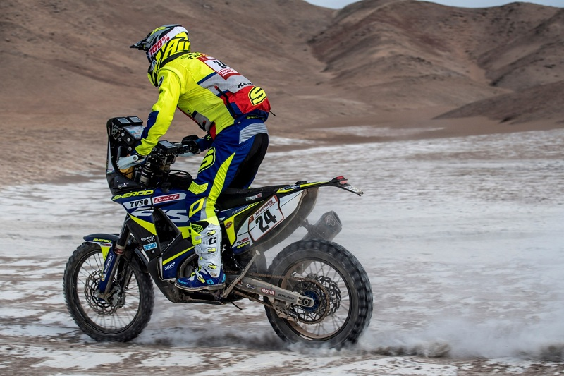 Sherco TVS motorcycle diaries