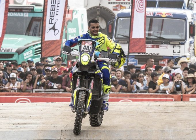 tvs dakar motorcyclediaries