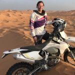 Gabriela Dakar Rally motorcycle diaries