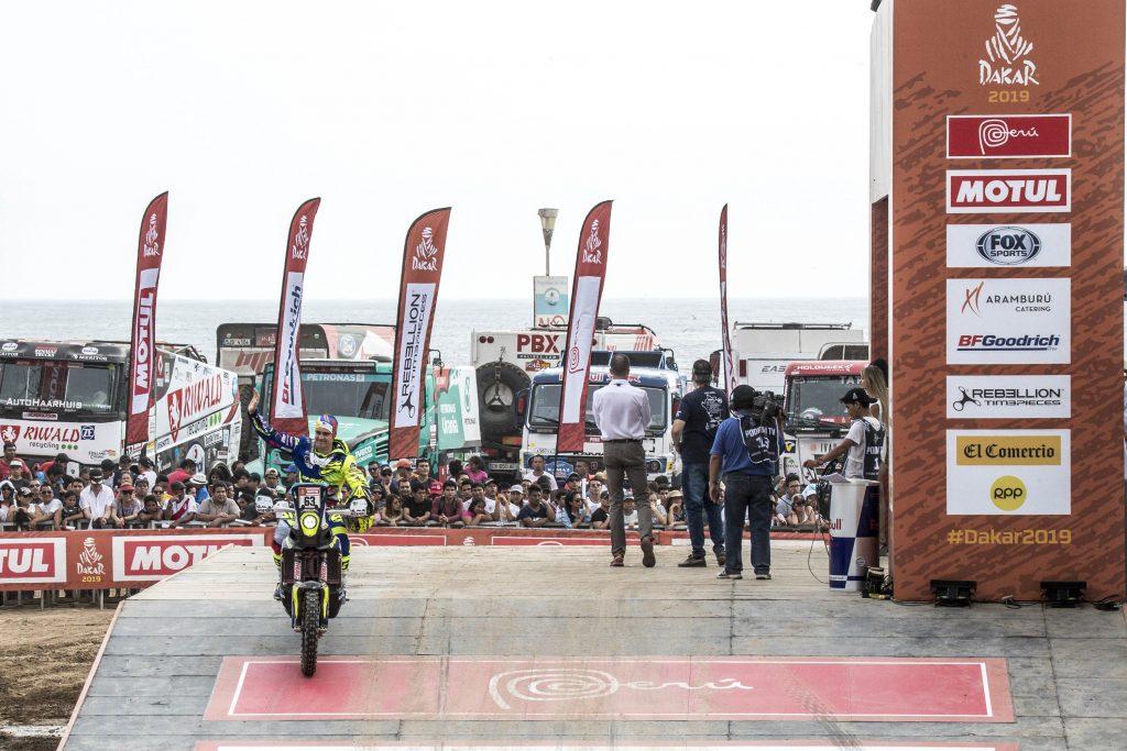 Dakar Rally 2019 motorcycle diaries
