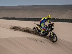 tvs dakar motorcycle diaries
