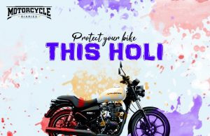 protect bike during holi motorcyclediaries