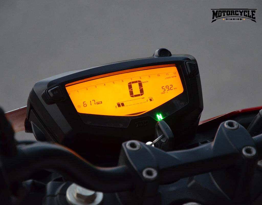 tvs apache rtr 4v meter motorcyclediaries
