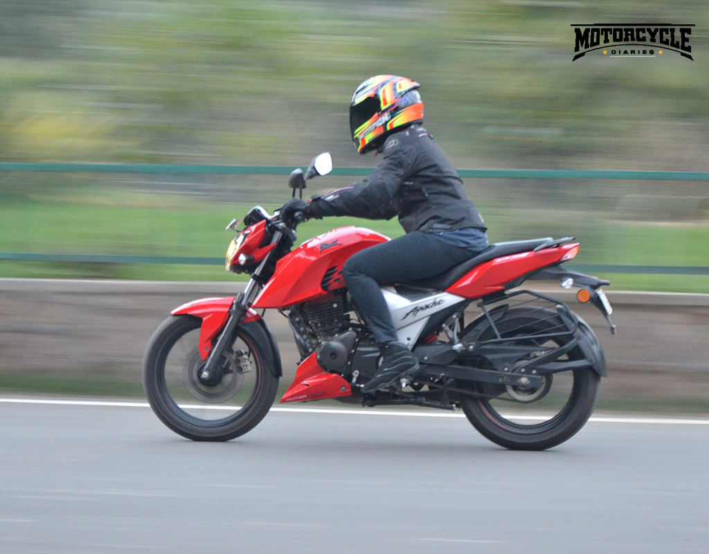 tvs apache rtr 160 4v performance motorcyclediaries