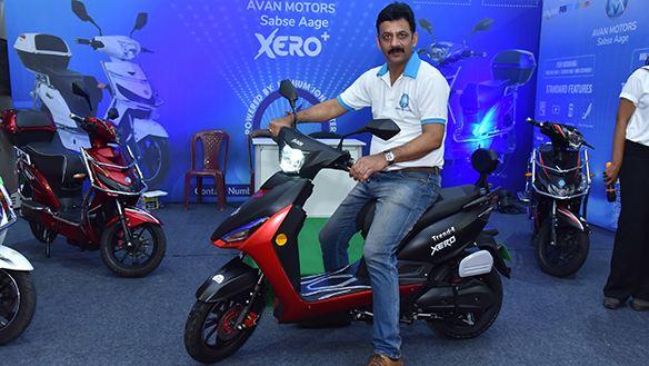 Avan Trend E motorcyclediaries