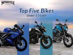bikes under 1.5 lakh motorcyclediaries