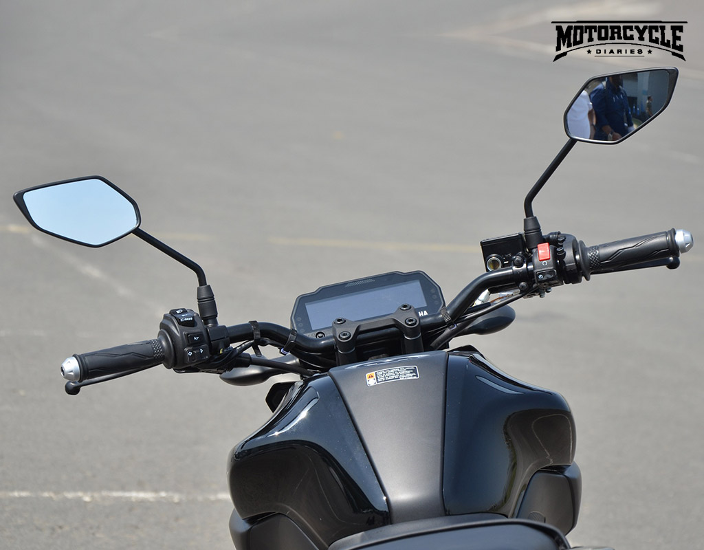 yamaha mt15 handlebar motorcyclediaries