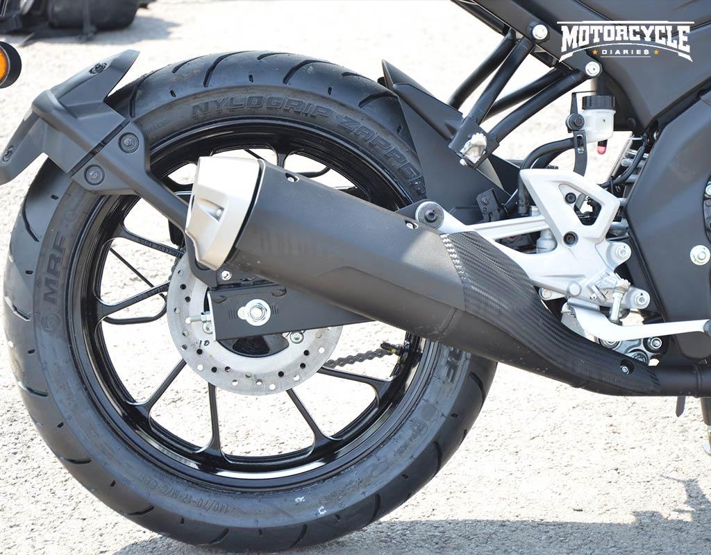 yamaha mt15 exhaust motorcyclediaries