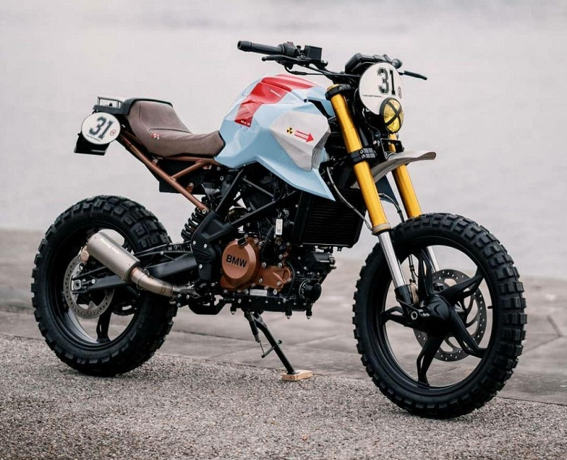 Drool Over This Bmw G 310 Gs Custom By Vtr Customs Mcd