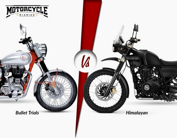 Enjoyable Want Kind Of A Rider Are You Re Himalayan Vs Bullet Trials 350 Cjindustries Chair Design For Home Cjindustriesco