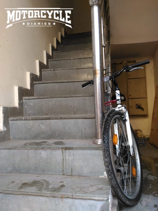 Cycle to office in Noida