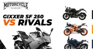 suzuki gixxer sf250 vs rivals motorcyclediaries