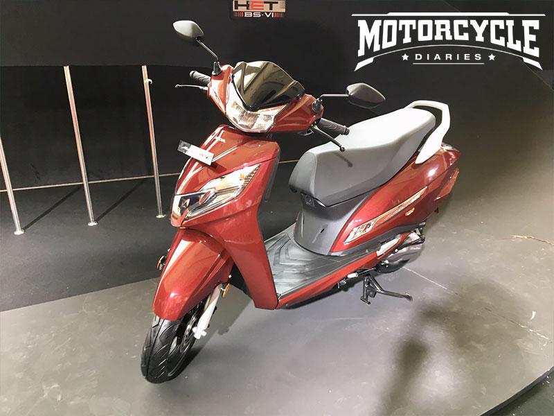 Honda Activa 125 Bs6 Image Gallery Motorcyclediaries