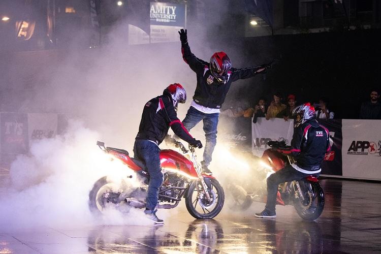 TVS APPX motorcyclediaries