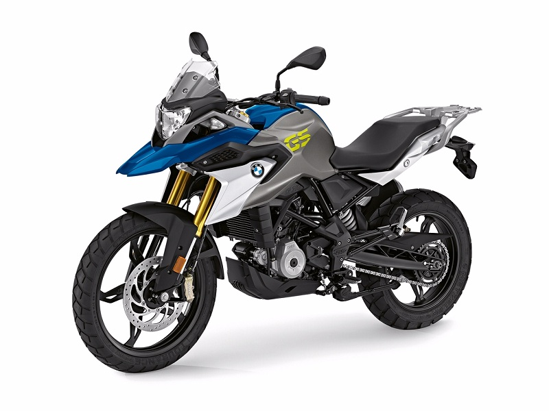 BMW G310R GS front quarter motorcyclediaries