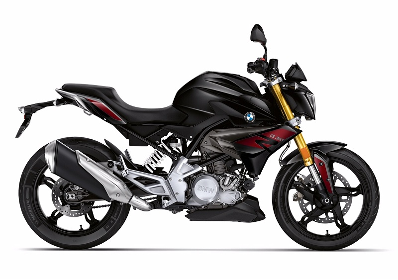 BMW G310R front quarter motorcyclediaries